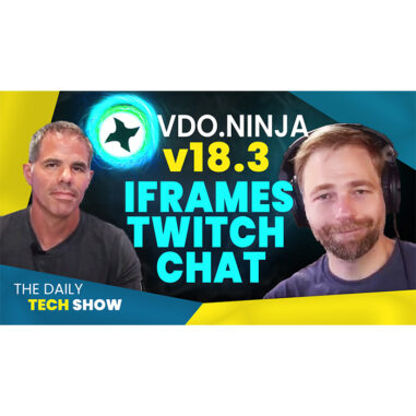Ep#18 VDO Ninja IFrames for Twitch Chat